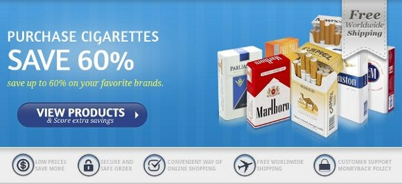 Buy flavoured cigarettes Marlboro Dallas